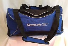"REEBOK 20"" 21"" Blue Gym Crossbody Tote Duffle Travel Bag Shoe Partition"