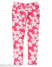 NWT GYMBOREE Pretty Poppy Floral PONTE PANTS 6,7,8 Girls Pull on Jeggings