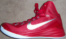 New Mens Nike Red/White/Silver Hyperdunk 2014 TB Basketball Shoes MSRP $140