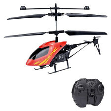 Radio Remote Control Aircraft 2.5CH Mini Gyro Metal Helicopter RC Kids Gifts New