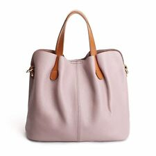 Elegant Soft Leather Women Handbags Lady Removeable  Work Tote Shoulder Bags