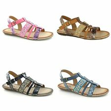 Savannah Womens/Ladies Strappy Jewel Gladiator Sandals