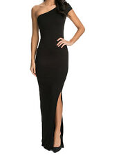 Ladies Sexy Long Maxi Cocktail Party Evening Bodycon Prom Dress Size 12 14 16