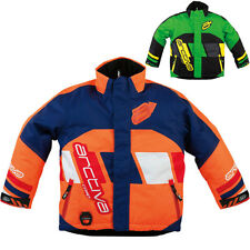 Arctiva Comp 7 Insulated Kids Snowmobile Sled Skiing Winter Sports Jacket