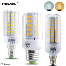 E12 E14 E27 Led Lamp Corn Light 5730SMD 110V 220V Candle Warm White LED Bulb