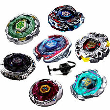 4D Fusion Metal Master Top Rare Rapidity Fight Beyblade String Launcher Sets New