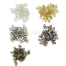 50pcs Wholesale Spring Clasp with Opend Jump Rings Jewelry Making Findings DIY