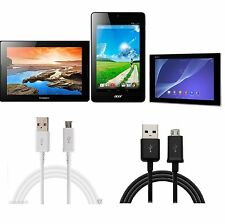 Charging Sync Data USB Cable For Tablets Lenovo Acer Sony Samsung Amazon Kindle