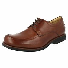 Anatomic&Co 'Anapolis' Men's Toast Lace Up Leather Shoes Anatomic Gel Technology