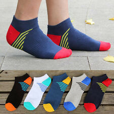 Fashion 1 Pairs Mens Sports Socks Lot Crew Ankle Low Cut Casual Cotton Sock