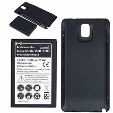 New 6800mAh Relacement Battery + Back Cover for Samsung Galaxy Note3 cell phone