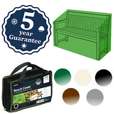 GARDMAN DELUXE 2 SEATER BENCH COVER WATERPROOF GARDEN PATIO FURNITURE 5 COLOURS