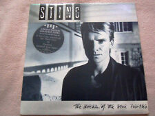 """STING I DREAM OF THE BLUE TURTLES LIMITED COLOURED VINYL BLUE RECORD 12"""" LP"""