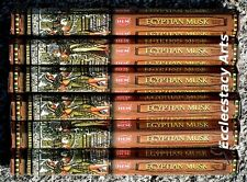 Hem Egyptian Musk Incense 20-40-60-80-100-120 Sticks You Pick Amount {:-)