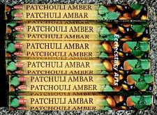Hem Patchouli Amber Incense 20-40-60-80-100-120 Sticks You Pick Amount {:-)