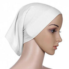 Islamic Muslim Head Scarf Cotton Underscarf Hijab Cover Head Wrap Bonnet New 1X