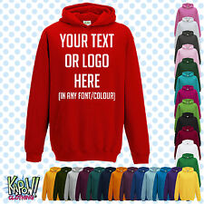 Custom Personalised Baby/Kids/Childrens HOODIE Name Funny Gift- Your text/logo 1