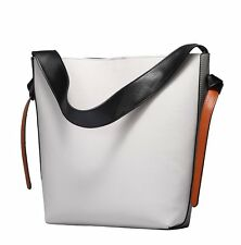 Personalized Wide Strap Leather Shoulder Bags Women Evening Handbags Large Tote
