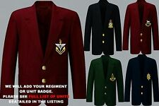 UNIT R-R1 ARMY ROYAL NAVY AIR FORCE MENS LADIES REGIMENTAL BLAZER JACKET TO 52""