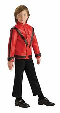 DELUXE Michael Jackson Red Thriller Jacket - Child
