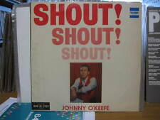 "JOHNNY O'KEEFE SHOUT SHOUT SHOUT VINYL RECORD LP 12"" MONO"