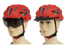 Cycling Adult road bike MTB Bicycle Integrally-molded Helmet with lens/sunglass
