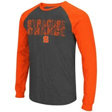"Syracuse Orange NCAA ""Olympus"" Long Sleeve Raglan Shirt - Charcoal"