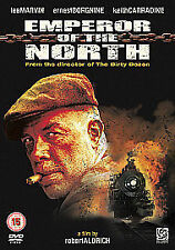 EMPEROR OF THE NORTH ~LEE MARVIN / ERNEST BORGNINE~ UK R2 DVD, FREE P&P