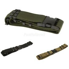 Adjustable Military Web Utility Tactical Outer Belt Quick Release heavy duty