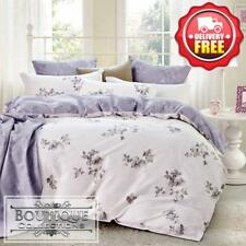 3pc Duvet/Doona/Quilt Cover Set Double/Queen/King Size Bed 400TC 60S Cotton B001