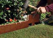 Border Edging Cobblestone Effect Edging Panels For Paths Lawns and Flowerbeds