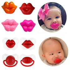Baby Silicone Nipple Dummy Cute Soother Toddler Orthodontic Pacifier Teether Top