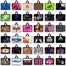 "8"" 9"" 10"" 10.1"" Bag Case Protector +Hide Handle Fr Tablet Mini PC Netbook Laptop"