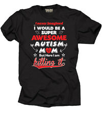 Autism T-shirt Autism Mom Mother Tee Shirt Autism awareness T-shirt Autism Tee