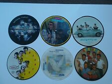 6 Madness picture discs in mint condition with original plastic sleeves