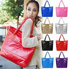 Women Winter Space bale Tote Shoulder Bag Cotton Quilted Handbag Purse New WST