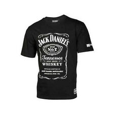 JACK DANIELS RACING JDR MENS DISTRESSED BUG T-SHIRT TEE BLACK  SIZE S ONLY