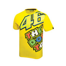 VALENTINO ROSSI VR.46 MENS THE DOCTOR T-SHIRT TEE YELLOW S &  L