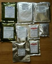 48 hour MRE Pack 9 x Army Meals boil in a bag Rations Hiking Camping Food