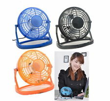 Notebook Laptop Computer Portable Super Mute PC USB Cooler Desk Mini Fan New GS