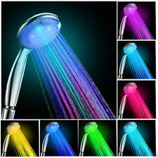 LED Water Faucet Stream Light Changing Glow Shower Stream Tap Head + Faucet GS