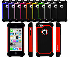iPhone 5c Case Shock Proof Heavy Duty Protective Hybrid Anti-Scratch Cover Cases