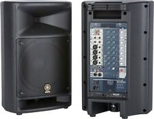"""Yamaha STAGEPAS 500 Portable PA System w/ 10"""" Speakers & Powered 10-Ch Mixer"""