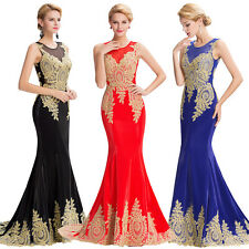 Lace Formal Long Sexy Evening Party Dresses Mermaid Prom Dresses Cocktail