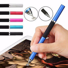 Capacitive 2 in 1 Touch Screen Metal Stylus Ballpoint Pen for iPhone iPod Tablet