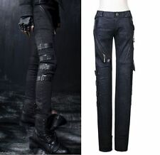 K105 GoThic Punk Rave Pants tight Rock Visual Kei