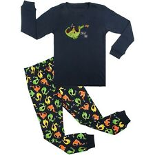 Baby Pajamas Set Knight Dinosaur Long Sleeve Sleepwear PJs Boy Kids Toddler 2-7T