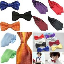 Baby Boys Men Pre Tied Party Tuxedo Bow Tie Necktie Silk Scarves/Cravat Ascot