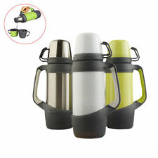 Outdoor Sports 1000ml Stainless Steel Thermos Drink Bottle Travel Vacuum Cup