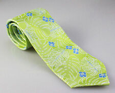 NAUTICA TROPICAL TIE LEMON GRASS GREEN BLUE WHITE ONE SIZE